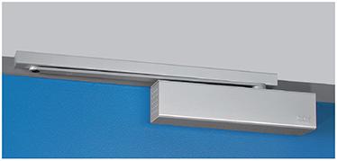 Amortizorul CP2 este util la usile antifoc si clasificat cu unghi de deschidere de 180° cu forta de inchidere de nivel 4