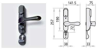 maner electric CISA ELM/CISA MULTI-VOLTAJ Echipat cu un temporizator separat (pentru insertia in panoul de sigurante) care poate fi configurat mai multi timpi de deschidere: de la minimum de 0.1 secunde pana la maximul de 10 zile. Echipat cu LED verde pentru semnalizarea activarii manerului.  Sistemul ELM/cisa include: manere electrice, 2 metri de cablu de alimentare, manson pentru conexiunea dintre canat si toc, drucker patrat de 8/9, suruburi de fixare, temporizator reglabil ambalat separat.