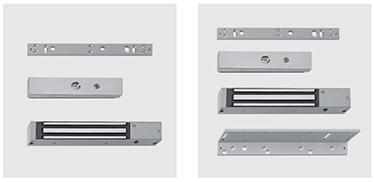 """Electromagnet REVER/ UNIVER PROGET      Tastatura cu cod de acces     Sistem de control pe baza de card     Cititor de acces biometric """"TOCA""""     Buton de deblocare"""