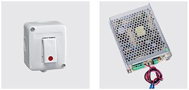 Buton de deblocare Buton de deblocare (art. GW 20 523), cu carcasa alba si iluminare. Intrerupator al sursei de alimentare 12 V DC/3 A Cu diferite optiuni:     max. 10 Sisteme MAC® (Multifunction Access Control)     sau max. 5 Electromagneti 13700 TD     sau max. 5 Manere electrice ELM/mt     sau max. 8 Manere electrice ELM/cisa