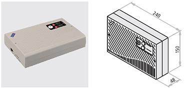 """microprocesor MONO-ZONE C2 model  52002 sursa de alimentare principala  230 V AC, 100 mA, 50-60Hz sursa de alimentare auxiliara  2 acumulatori, 12 V DC/1,1 ÷ 1,3 Ah intensitate minima  264 mA intensitate maxima  424 mA capacitate incarcator  24 V DC (27.6 V DC) grad de protectie  IP30 temperatura de operare  -5°C ÷ +40°C zone operationale  zona unica (mono-zona) alarma sonora  difuzor intern alerta de """"baterie scazuta""""  difuzor intern intermitent"""