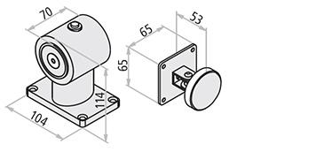 Date tehnice   sursa de alimentare  24 V DC absorbtie  60 mA rezistenta minima  55 Kg. certificare EC  0407-CPD-011 (IG-098-2004) conformitate cu standarde  EN 1155