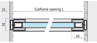 dimensiuni fereastra antifoc fixa din aluminiu REI 60 cu toc bloc