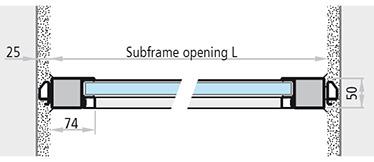 dimensiuni subtoc deschidere ferestre antifoc fixe din otel REI 30 REI 60