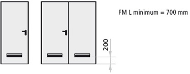 Grila de aerisire facuta din PVC alb sau negru, 382 x 99 mm (pasajul de aerisire aprox. 150 cm2)