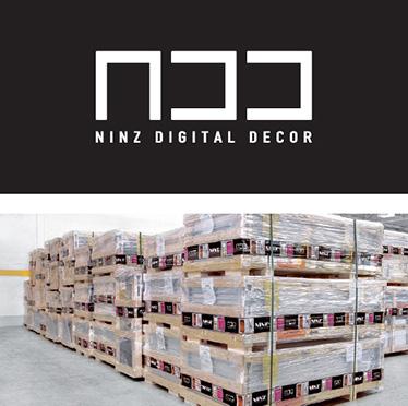 decor digital ninz; depozitare pe paleti; livrare in cutii de lemn