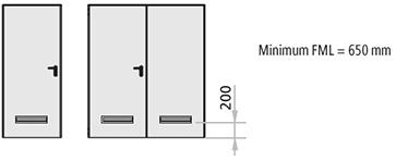 grila de aerisire usa multifunctionala Univer; Grila de aerisire facuta din PVC alb sau negru; dimensiune 482 x 99 mm, (pasajul de aerisire insumand 150 cm2)