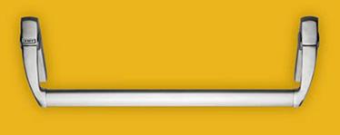 kit EXUS® LX din inox bare antipanica KIT pentru usile cu un canat sau pentru canatul activ al usilor duble Dispozitivul de iesire antipanica EXUS LX este confectionat integral din otel inoxidabil si consta intr-o bara orizontala ce actioneaza bratele manerului atasate la mecanismul de control pentru a activa incuietoarea.