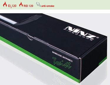 KIT complet cu prezentare in cutie negru/verde bare antipanica