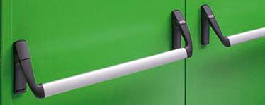 bare antipanica KIT pentru canatul pasiv al usilor duble. Disponibil si pentru alte usi antifoc si multifunctionale KIT-ul contine: 1 broasca antipanica cu gaura de cilindru de 80 mm, 2 mecanisme de control, 2 capace din nylon, 2 brate de maner, 1 bara aluminiu anodizat, 1 zavor cu bolt, 1 sistem de prindere superior, 1 suport unghiular, 1 tija superioara ajustabila, 1 tija inferioara, 1 piesa de inchidere de paviment, 1 ghidaj de brat de legatura, 1 sablon de montaj