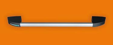 """kit SLASH in nylon bare antipanica Descriere Dispozitivul antipanica SLASH consta intr-o bara transversala din aluminiu anodizat si un tub conector intern ce actioneaza asupra mecanismului de control pentru a activa zavorul. Deschidere reversibila dreapta stanga Aplicabil usilor cu una sau doua canate Disponibil pentru usile PROGET/UNIVER/REVER si alte usi antipanica Bara transversala este din aluminiu anodizat extrudat cu o sectiune de imbinare eliptica de 40 x 20 mm si o lungime de 1150 mm Mecanismele de control sunt din otel galvanizat cu capace din nylon din care unul are aplicat marcaj """"IESIRE"""" pentru a specifica pozitia incuietorii  Controlale externe si placile de montaj sunt din nylon placa interna din otel galvanizat."""